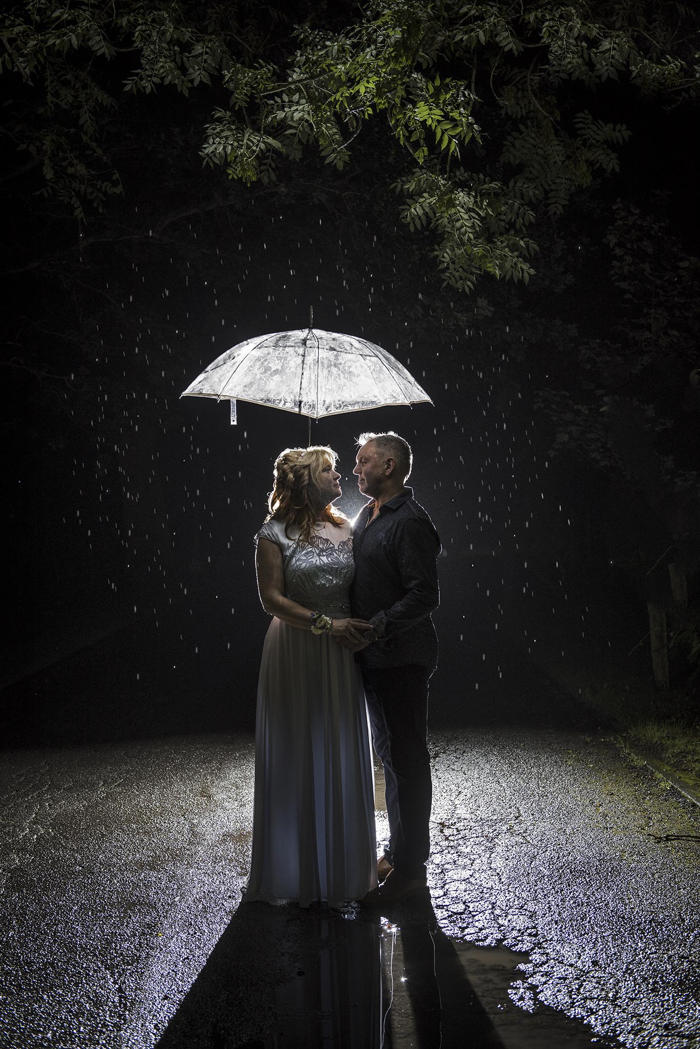 Rain Cornwall Weddings